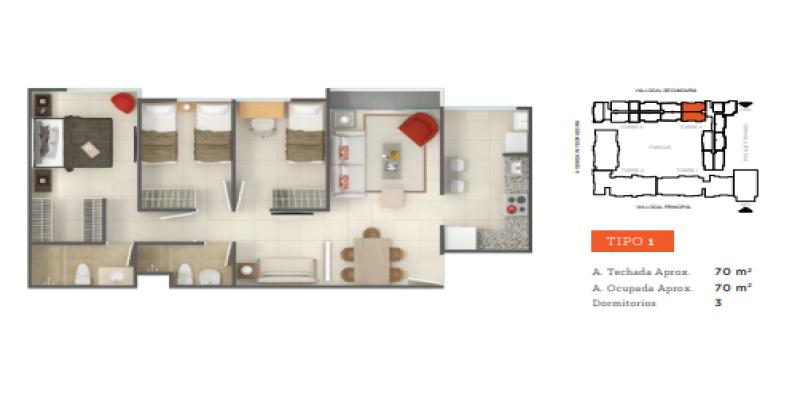 S/N Tallanes, Piura, Piura Sector Norte, 3 Habitaciones Habitaciones, ,2 BathroomsBathrooms,Departamento,Venta,Garden 360,Tallanes,1148