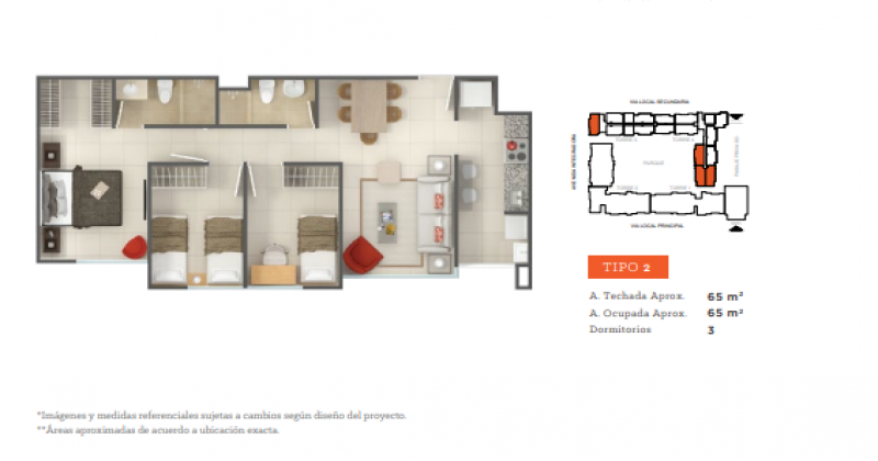 S/N Tallanes, Piura, Piura Sector Norte, 3 Habitaciones Habitaciones, ,2 BathroomsBathrooms,Departamento,Venta,Garden 360,Tallanes,1149