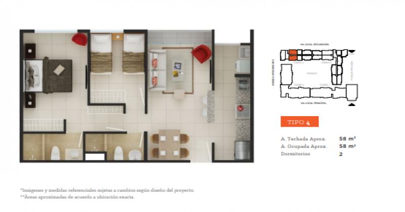 S/N Prolongación Tallanes, Piura, Piura, 2 Habitaciones Habitaciones, ,2 BathroomsBathrooms,Departamento,Venta,Garden 360,Prolongación Tallanes,1151