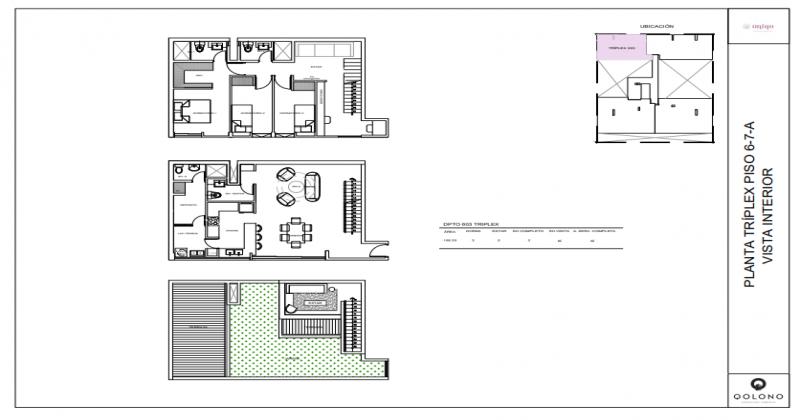 Halcones, San Isidro, Lima, Perú, 3 Habitaciones Habitaciones, ,2 BathroomsBathrooms,Departamento,Venta,Uniqo,Halcones,8,1158