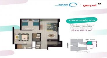 Avenida Manuel Olguin 600, Santiago de Surco, Lima, Perú, 2 Habitaciones Habitaciones, ,2 BathroomsBathrooms,Departamento,Venta,Epiqe,Avenida Manuel Olguin,22,1225