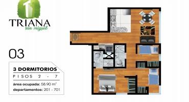 Los Chimus 111, San Miguel, Lima, Perú, 3 Habitaciones Habitaciones, ,2 BathroomsBathrooms,Departamento,Venta,Los Chimus,7,1229