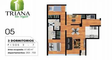 Los Chimus 111, San Miguel, Lima, Perú, 3 Habitaciones Habitaciones, ,2 BathroomsBathrooms,Departamento,Venta,Los Chimus,7,1231